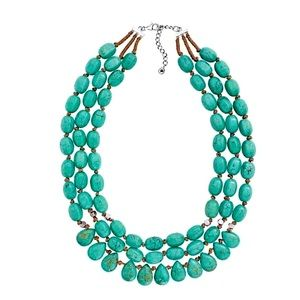 SILPADA Drops Of The Ocean Turquoise Necklace